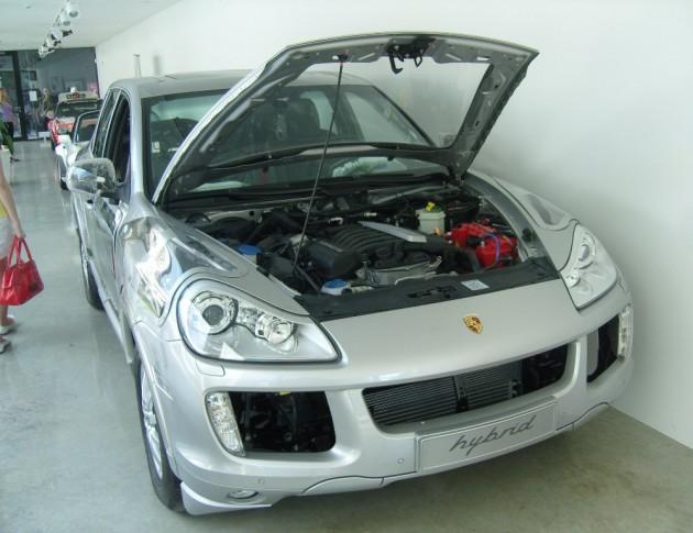 Porsche Cayenne E1 Hybrid